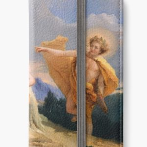 Oil Painting Apollo Pursuing Daphne by Giovanni Battista Tiepolo iPhone Wallets