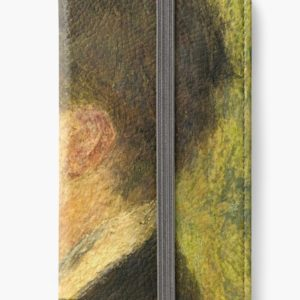Georges Rivière Oil Painting by Auguste Renoir iPhone Wallets